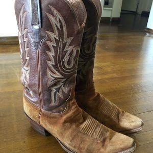 Men's Lucchese cowboy boots